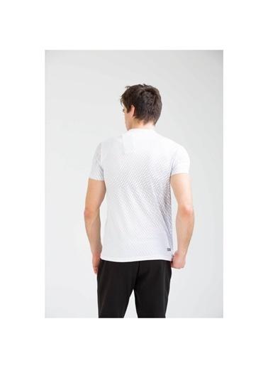 Umbro Reud Basic Tf-0040 M.Tshırt Saks  Erkek Tişört Beyaz